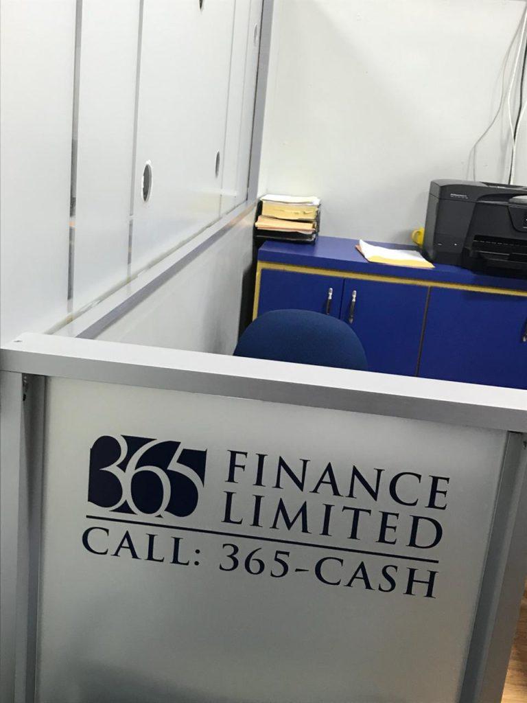 365 Finance Ltd Kingston Mega Mart Kiosk